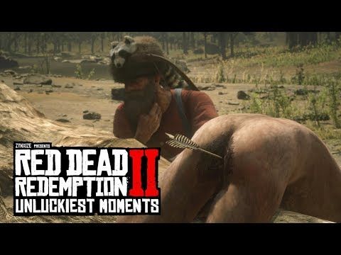 When Red Dead Redemption 2 Hates You (RDR2 Unlucky Moments)