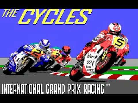 The Cycles: International Grand Prix Racing (Destrictive Software/1989)