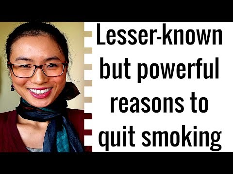 Lesser-known reasons to quit smoking