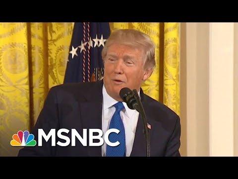 WH Lawyer Scrambles To Walk Back Impromptu Trump Robert Mueller Comments | The Last Word | MSNBC