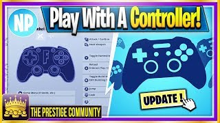 How To Play Fortnite Mobile With A CONTROLLER! (Use Controller on Android/IOS) (Working 2019)