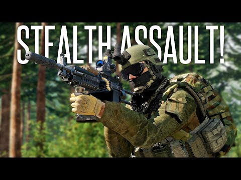 STEALTHY ISLAND ASSAULT! - ArmA 3 Stealth Operation / Sahrani