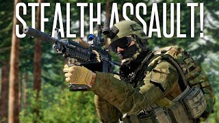 STEALTHY ISLAND ASSAULT! - ArmA 3 Stealth Operation / Sahrani