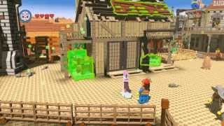 Fast Drill (5 Birds) Red Brick Unlock Guide - The LEGO Movie Videogame