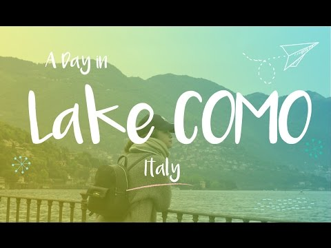 Lake Como, Italy - A Day in the most beautiful & peaceful place - 4K UHD