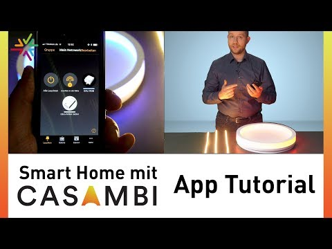 CASAMBI App Tutorial - We explain the features of the CASAMBI app