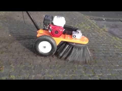Bensink Weed Brush Cleaning Blocks Of Moss Etc Youtube