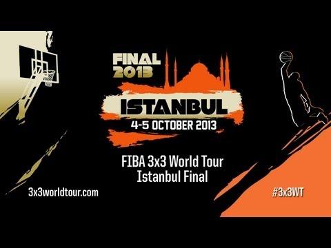 [REWATCH] - Full Day 2 of 2013 FIBA #3x3WT Istanbul Final