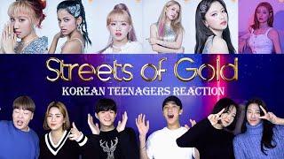 Z-girls, 7개 국가 출신 걸그룹 리액션하기 (f…