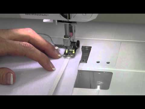 Bernina 330 09  Sewing Elastic
