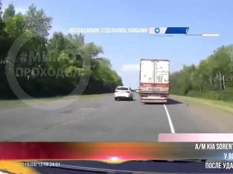 ДТП на трассе М-5 в Нижнеломовском районе Пензенской области