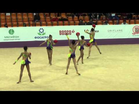Junior team Italy, 5 balls. Grand Prix, 2015, Final, Moscow.