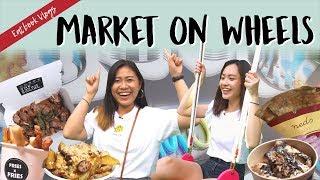 Market on Wheels @ Bugis Junction   EATBOOK VLOGS   EP 42