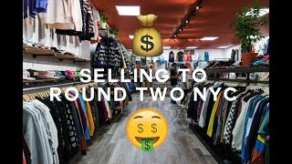 SELLING TO ROUND TWO NEW YORK (SHOPPING)