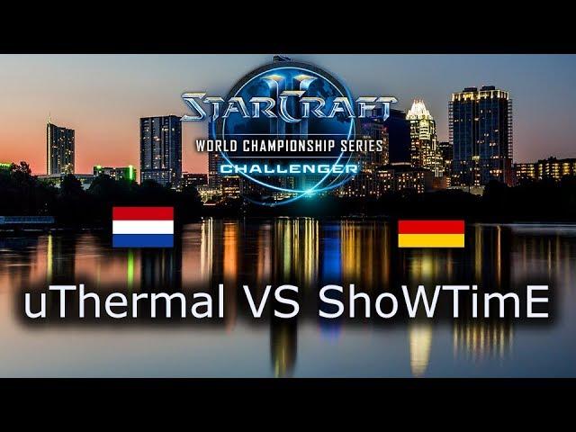 uThermal VS ShoWTimE - Ro8 - TvP - EU Qualifiers WCS Austin 2018 - polski komentarz