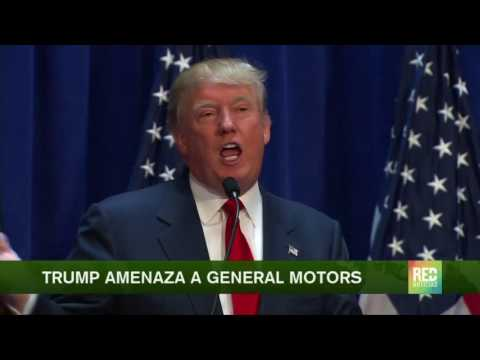 Trump amenaza a General Motors
