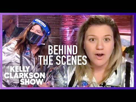 How 'The Kelly Clarkson Show' Is Taking On The Pandemic Behind The Scenes