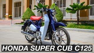 Soi chi tiết Honda Super Cup C125 - đẹp và hoàn thiện tốt, chỉ đi được 1 người   Xe.Tinhte.vn