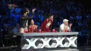 VIETNAM'S GOT TALENT 2014: VÒNG BÁN KẾT 7 - VŨ THÁI THẢO VI [FULL HD]