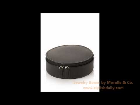 Jewelry Boxes by Morelle & Co.
