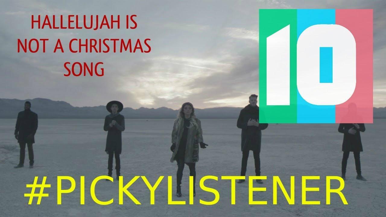 A hallelujah christmas single itunes
