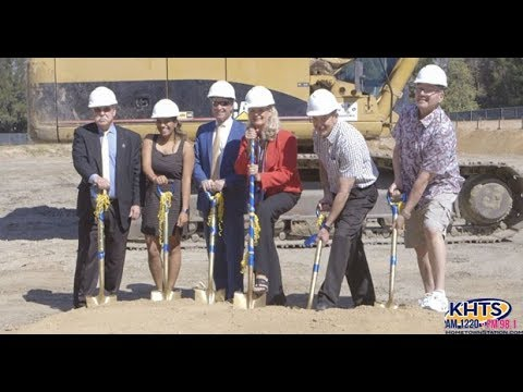 College Of The Canyons Breaks Ground On New Parking Structure - KHTS News - Santa Clarita