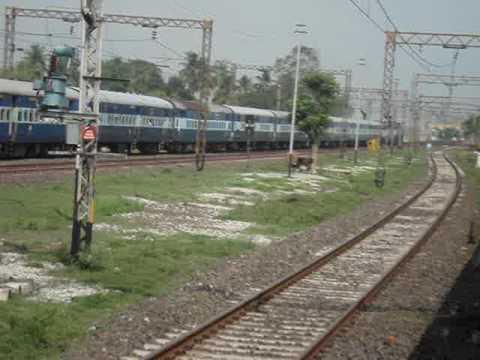 Rampurhat Howrah Vishwabharati Fast Passenger meets Howrah Siuri Hool Express