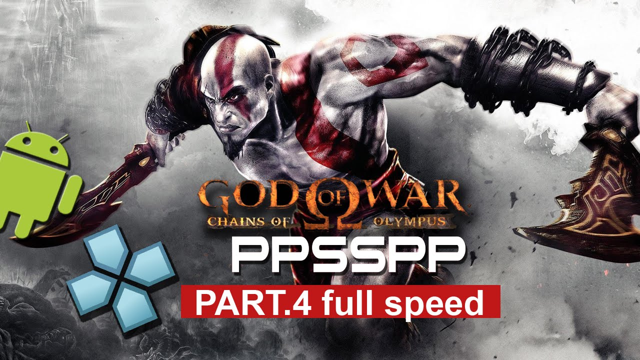 god of war 4 for ppsspp android game