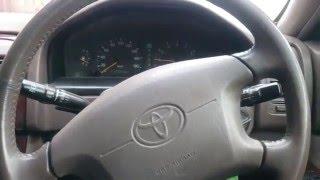 Rulda bu karanika ta'mirlash Toyota Vista Camry SV41