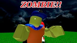 EFC TURNS INTO A ZOMBIE, AT THE PUSH OF A NORMAL BUTTON!!   ROBLOX Simulator