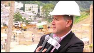 Periodistas conocieron avances de construcción de Centro Cultural Universitario Rogelio Salmona