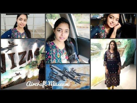 FRIDAY EVENING VLOG||AIRCRAFT MUSEUM IN VIZAG||LIFESTYLE SHOPPING HAUL