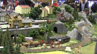 HO Scale Model Trains/Locomotives/CargoNet**Model railroad 2017 from Hobby Fair 2017
