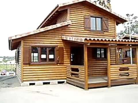 refugios de madera