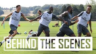 Great vibes at training! | Exclusive behind the scenes