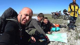 Discovery Крым.Караби на мотоцикле