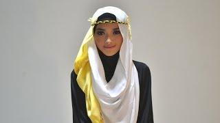 Hijab Tutorial Style 53 by Puteri Hasanah Karunia Thumbnail