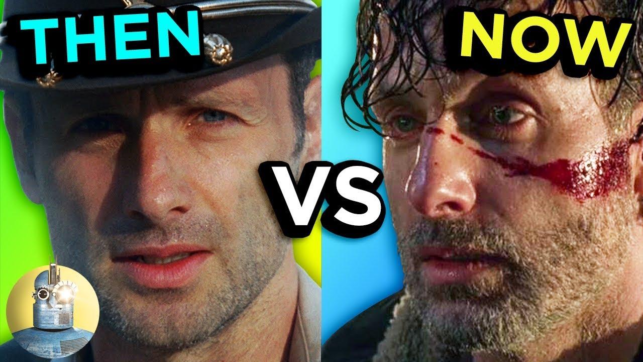 The Walking Dead - Then Vs Now - Evolution Of The Walking Dead | Cinematica