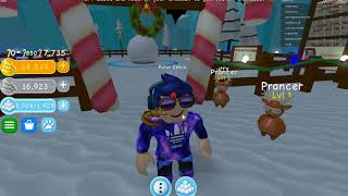 CAN YOU GET PAST ME!!! probably but just a question; ROBLOX Snowman Simulator
