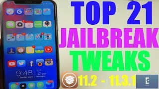 Top 21 11.3.1 Jailbreak Tweaks
