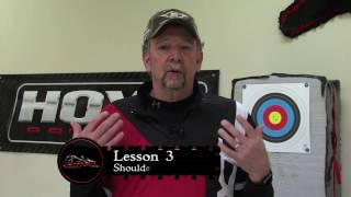 BFHA | Archery Tips | Shoulder Placement
