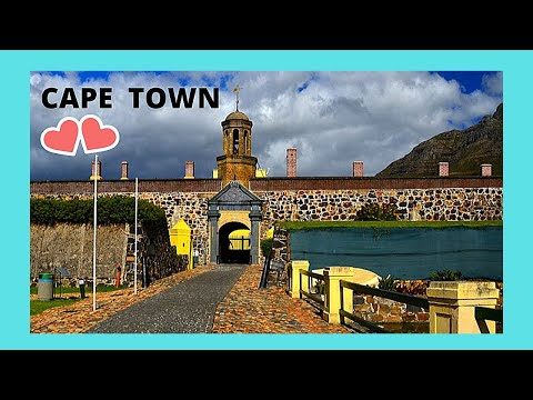 CAPE TOWN, what to see in the centre of this historic city (SOUTH AFRICA)