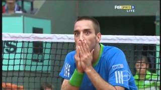 Ball Boy FAIL  Andy Murray Vs Viktor Troicki