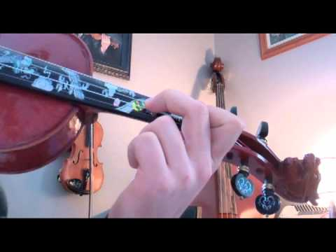 Chromatic Scale Sharps Violin Finger Chart  Youtube