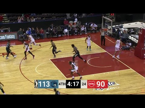 What a dunk by Justin Patton!