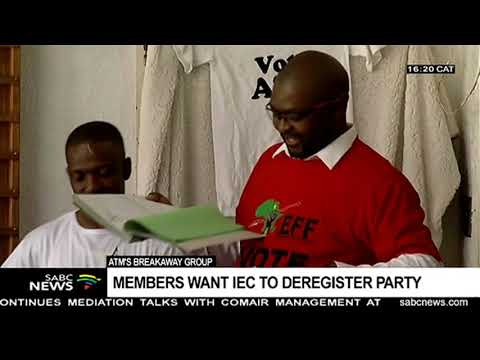 ATM members write to IEC to demand that it deregister the party