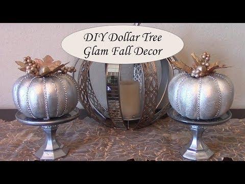 DIY Dollar Tree Glam Fall Decor