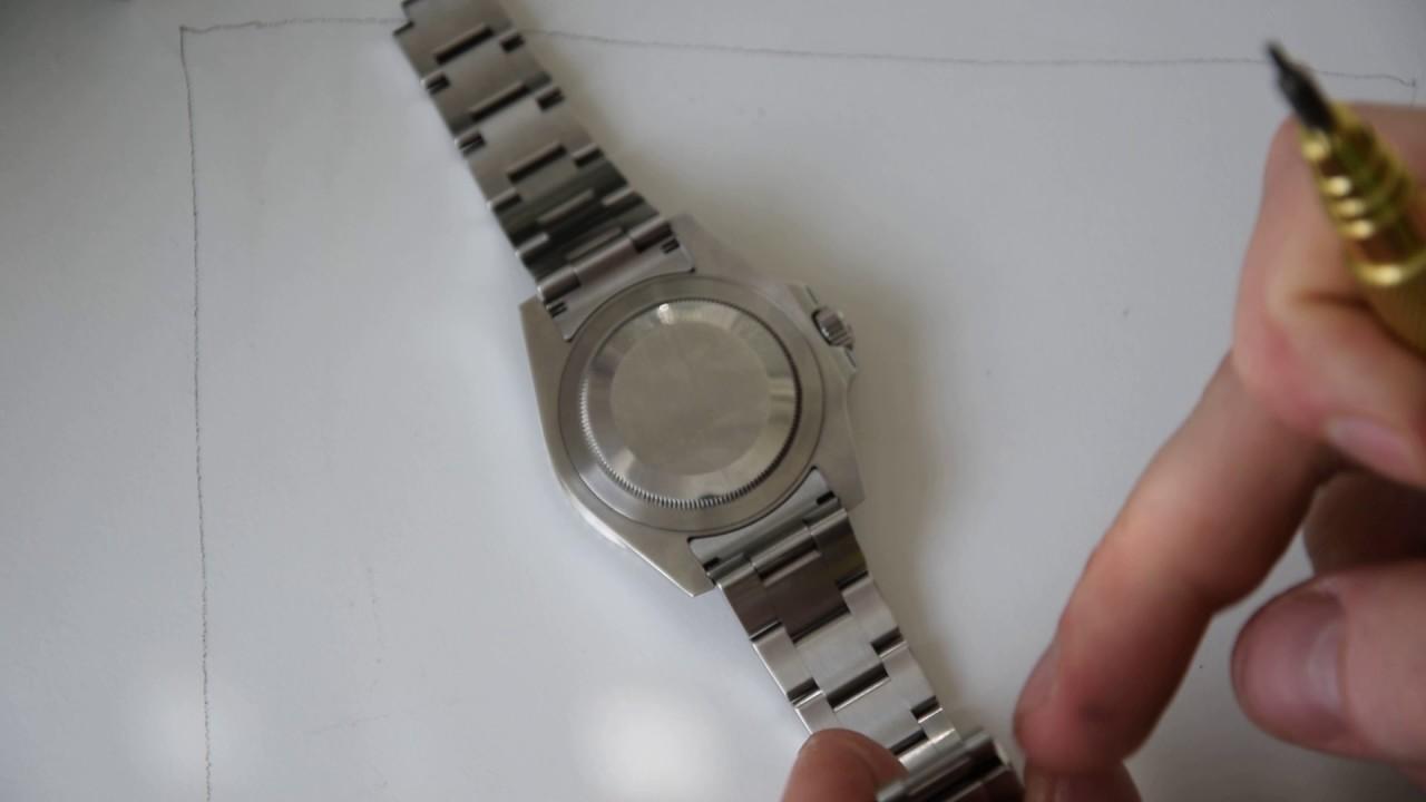 How To: Uhrenarmband kürzen (Rolex) - YouTube