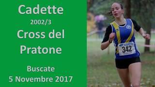 Buscate 1600m Cadette 2002 Cross del Pratone 5 Novembre 2017