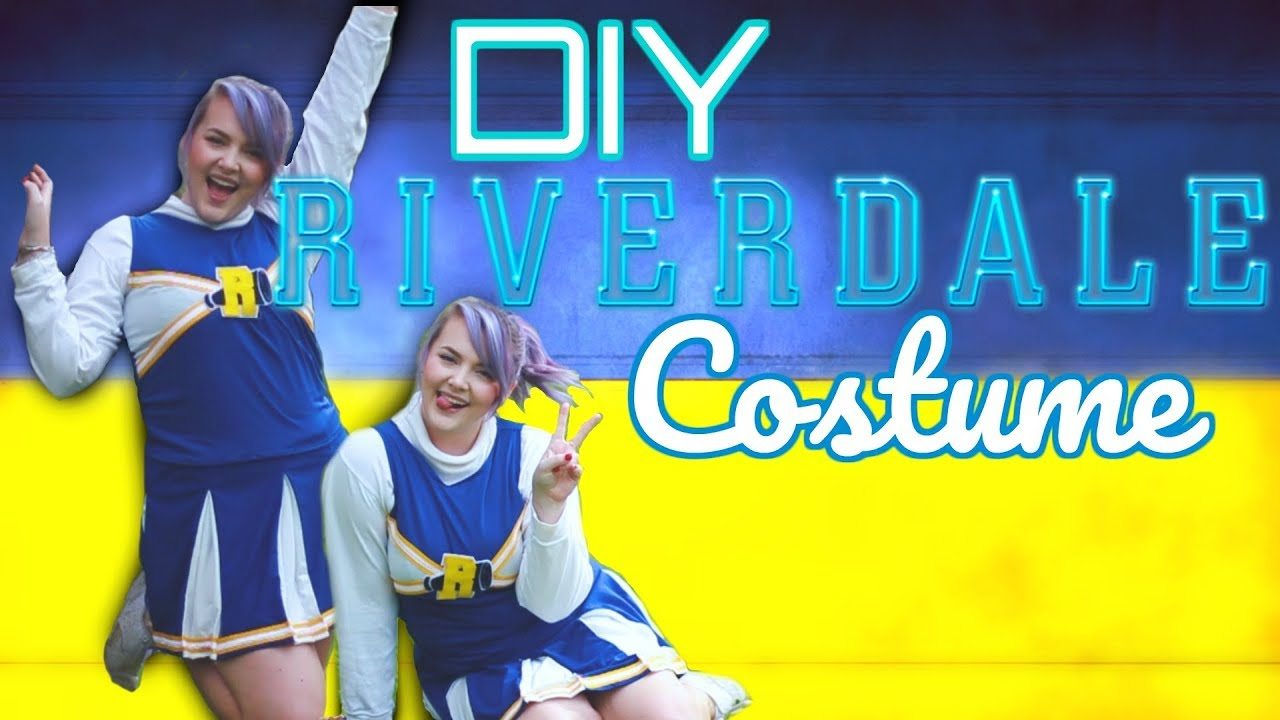 Diy riverdale costume betty veronica cheryl cheerleader uniform diy riverdale costume betty veronica cheryl cheerleader uniform solutioingenieria Images